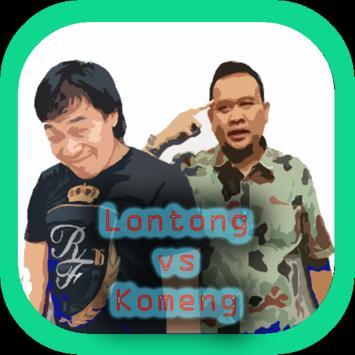 Lawak Lontong vs Komeng poster