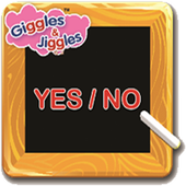 "UKG - English Words - ""YES NO"" icon"