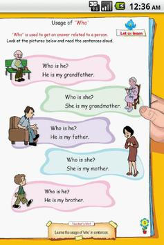 HOW / WHO / WHICH -English-UKG apk screenshot