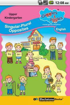 UKG- Singular Plural Opposites poster