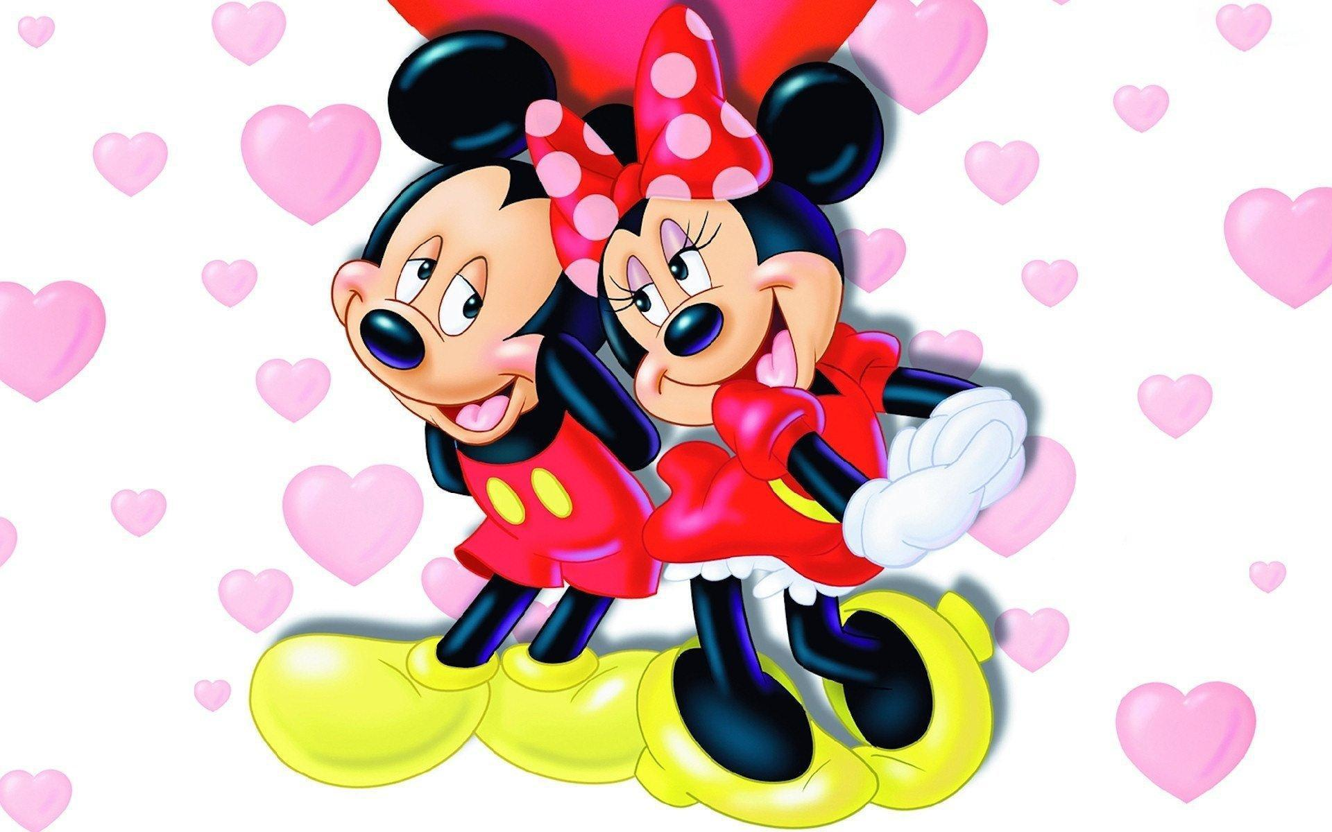 Cute Wallpaper Mickey And Minnie Mouse Hd For Android