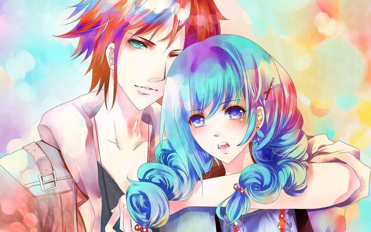 Anime couple wallpaper poster anime couple wallpaper screenshot 1