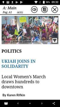 Ukiah Daily Journal Native screenshot 1