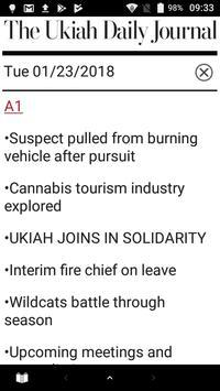 Ukiah Daily Journal Native screenshot 2