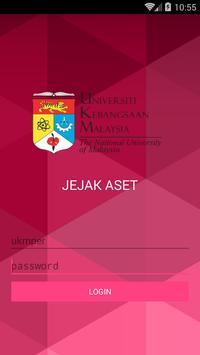 UKM Jejak Aset poster