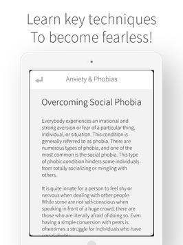 Anxiety & Phobias - Cure Fear screenshot 5