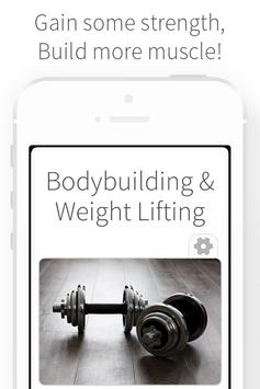 Bodybuilding & Weight Lifting poster