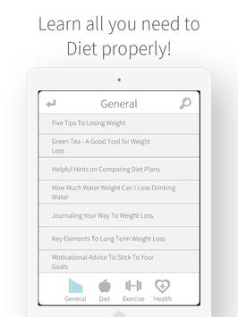 Weight Loss and Diet Nutrition apk screenshot
