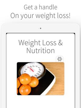 Weight Loss and Diet Nutrition poster