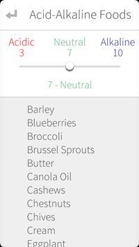 Raw Foods, pH and Vegan Diet apk screenshot