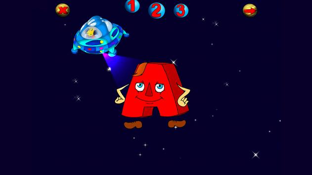 ABC Puzzle: Space Journey free apk screenshot