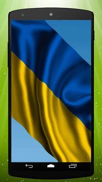 Ukrainian Flag Live Wallpaper poster