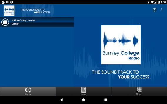 Burnley College Radio screenshot 4