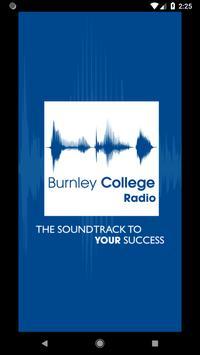 Burnley College Radio poster