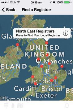 UK Registrars apk screenshot