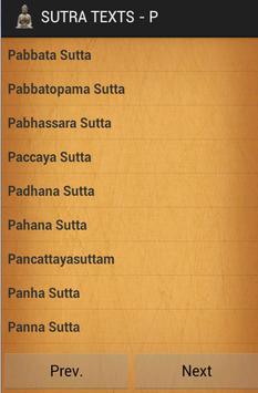 All Buddha sutras + Dhammapada apk screenshot