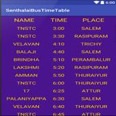 Bus Time Table Sentharapatti icon