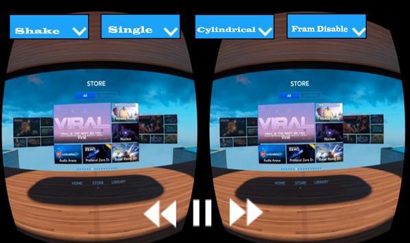 3D VR Video Player apk screenshot
