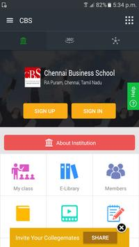 Chennai Business School screenshot 1