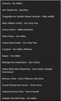 Lagu Lagu Dangdut screenshot 1