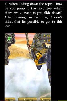 Guide Pro For Temple Run 2 apk screenshot