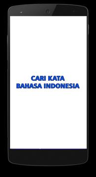 Cari Kata poster