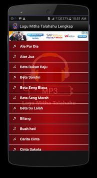 Lagu Mitha Talahatu Lengkap apk screenshot