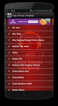 Lagu Souqy Lengkap apk screenshot