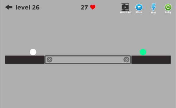 Draw On The Physics - Help Two Balls apk screenshot