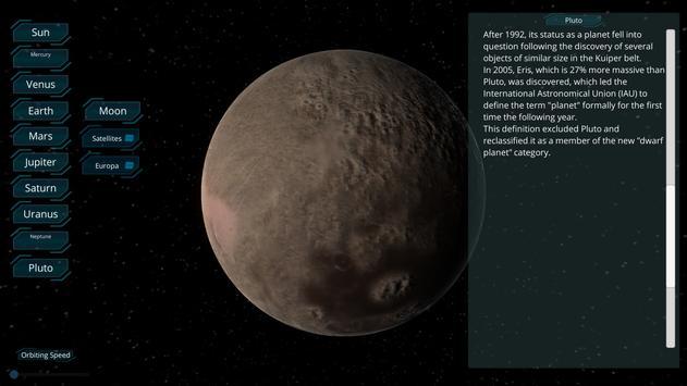 النظام الشمسي 3D مجانا apk تصوير الشاشة