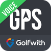 Golfwith:GOLF GPS VOICE icon