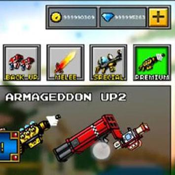 Cheats for Pixel Gun 3D poster