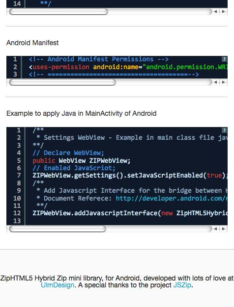 ZipHTML5 for Android - APK Download
