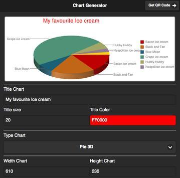 Chart & QR Code Generator poster