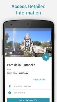 Barcelona Offline City Map apk screenshot