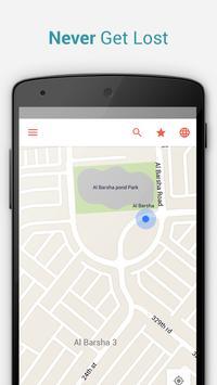 Dubai Offline City Map apk screenshot