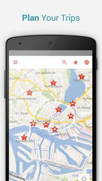 Hamburg Offline City Map apk screenshot