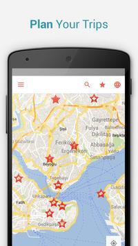 Istanbul Offline City Map apk screenshot