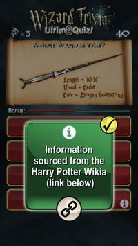 Harry Potter Wizard Quiz: U8Q screenshot 14