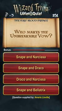 Harry Potter Wizard Quiz: U8Q screenshot 18