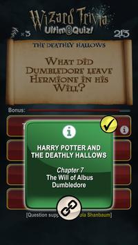 Harry Potter Wizard Quiz: U8Q screenshot 19