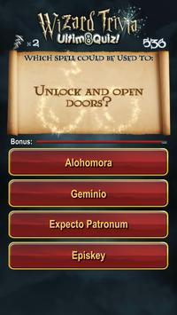 Harry Potter Wizard Quiz: U8Q screenshot 13