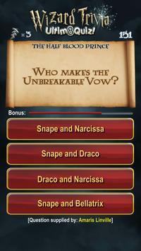 Harry Potter Wizard Quiz: U8Q screenshot 2