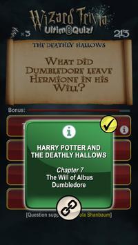 Harry Potter Wizard Quiz: U8Q screenshot 3