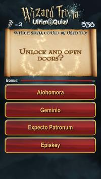 Harry Potter Wizard Quiz: U8Q screenshot 5