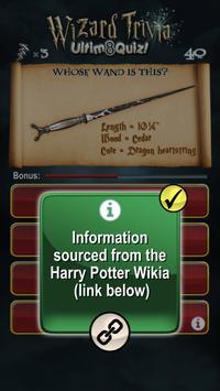 Harry Potter Wizard Quiz: U8Q screenshot 6
