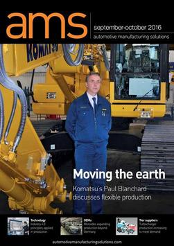 AMS Magazine poster