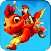 Ultimate Dino Land Flying icon