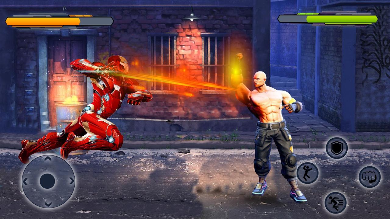 Real Superhero Pro Street Fight Game para Android - APK Baixar