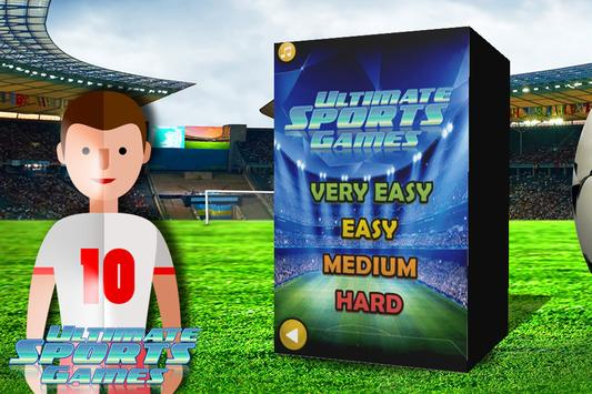 Ultimate Sports Games poster